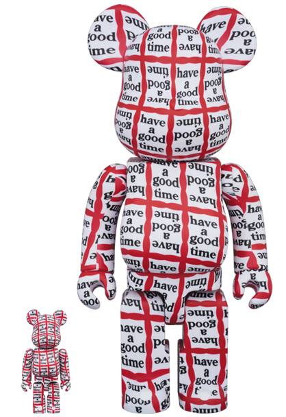 medicom toy be rbrick have a good time 100 400