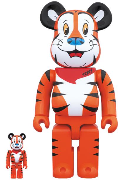 medicom toy be rbrick tony the tiger 100 400