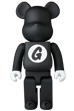 BE@RBRICK GOODENOUGH BLACK 400%