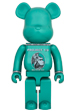 BE@RBRICK CENTURION GREEN 1000%