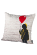 "MLE「IT」シリーズ SQUARE CUSHION ""BALLOON"
