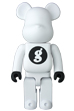 BE@RBRICK GOODENOUGH WHITE 400%