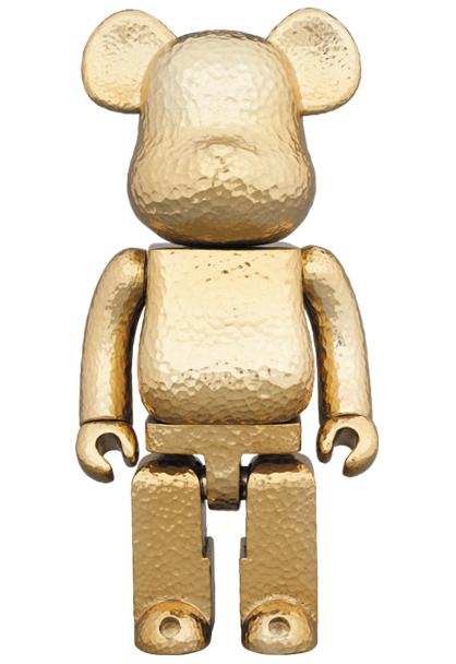 medicom toy be rbrick royal selangor gold color ver