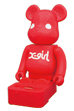 BE@RBRICK SPEAKER SYSTEM X-girl Ver.
