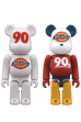 Dickies 90th BE@RBRICK WHITE Ver. / LOGO Color Ver.