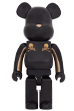 BE@RBRICK mastermind JAPAN GOLD STRIPE 1000%
