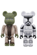 BE@RBRICK STAR WARS(TM) 2 PACK YODA(EP2) & CLONE TROOPER(TM) (EP2)