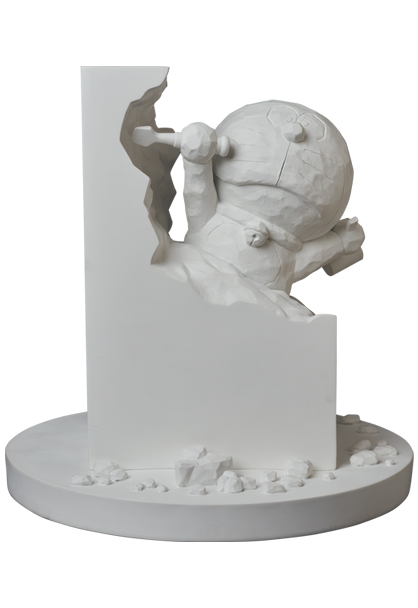 MEDICOM TOY - 彫刻家ドラえもん White Ver.