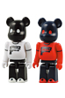 REVOLVER BE@RBRICK White & Red