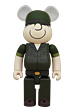BE@RBRICK DRX ARMY beetle bailey 400%