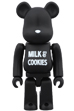 BE@RBRICK NUMBER (N)INE <br> MILK & COOKIES