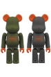 BE@RBRICK PORTER STAND <br> セージグリーン&シルバーグレー
