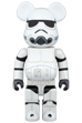 BE@RBRICK STORMTROOPER(TM) CHROME Ver.400%