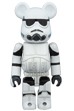 BE@RBRICK STORMTROOPER(TM) CHROME Ver.100%<br>