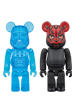 BE@RBRICK DARTH VADER(TM) (HOLOGRAPHIC Ver.) & DARTH MAUL(TM) 2 PACK