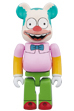 BE@RBRICK krusty the clown 100%