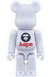 BE@RBRICK AAPE BY A BATHING APE (R)