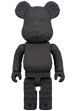 BE@RBRICK カリモク fragment design 400 (carved wooden)