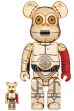 BE@RBRICK C-3PO(TM) THE FORCE AWAKENS Ver. 100% & 400%