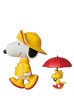 UDF PEANUTS シリーズ7 RAIN COAT SNOOPY & WOODSTOCK