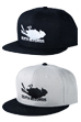 MLE Phantom of the Paradise シリーズ SNAP BACK CAP BLACK/GRAY×BLACK