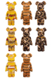 DRxROMANELLI x FABRICK ONE OF KIND COLLECTION BE@RBRICK 1000%