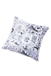 MLE FABRICK ドラえもんシリーズ SQUARE CUSHION COVER + PILLOW