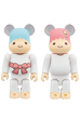 BE@RBRICK Little Twin Stars キキ&ララ 100%