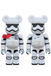 FIRST ORDER STORMTROOPER(TM) OFFICER & FIRST ORDER STORMTROOPER(TM) BE@RBRICK STAR WARS(TM) 2PACK