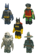 BATMAN 5pc pack