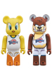 BE@RBRICK TWEETY & TASMANIAN DEVIL 2 PACK