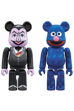 BE@RBRICK COUNT VON COUNT & GROVER 2 PACK