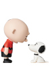 UDF PEANUTS シリーズ9 CHARLIE BROWN & SNOOPY 50's