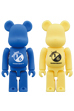 BE@RBRICK RUBBER COATING(BLUE/YELLOW)