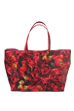 MLE M / mika ninagawa シリーズ『LEATHER ROSE』 TOTE BAG