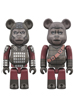 BE@RBRICK GENERAL URSUS & SOLDIER APE 2PACK