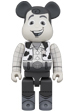 BE@RBRICK WOODY B&W Ver. 400%
