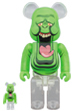 BE@RBRICK SLIMER(GREEN GHOST) 100% & 400%