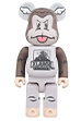 BE@RBRICK XLARGE × D*Face 1000%