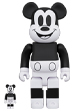 BE@RBRICK MICKEY MOUSE (B&W 2020 Ver.)100% & 400%