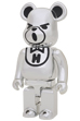 BE@RBRICKHYSTERIC BEAR CHROME 400%