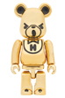 BE@RBRICK HYSTERIC BEAR GOLD 100%
