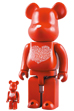 International Love Heart BE@RBRICK 100% & 400% SET