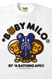 BABY MILO BE@RBRICK SHARK TEE