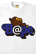 BE@RBRICK MILO ON BAPE TEE