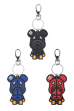 BE@RBRICK SHARK SILICON KEYCHAIN