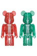 TOKYO SKYTREE(R) BE@RBRICK 2014 CHRISTMAS Ver. RED/GREEN