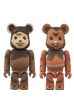 BE@RBRICK STAR WARS(TM) 2 PACK WICKET(TM) & ROMBA(TM)