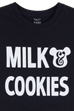 NUMBER (N)INExBE@RTEE MILK & COOKIES(BLACK)