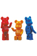 100% BB BE@RBRICK Red / Yellow / Blue
